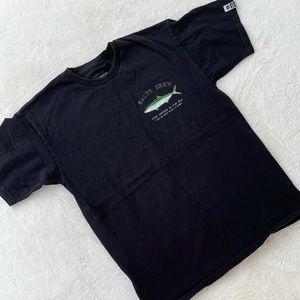 Salty Crew 100% Cotton T-Shirt Tee Black sz M